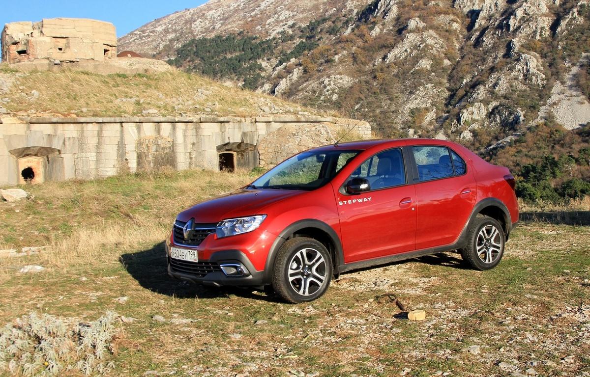Renault попытались сделать из Logan «внедорожник». Получилось не очень 8
