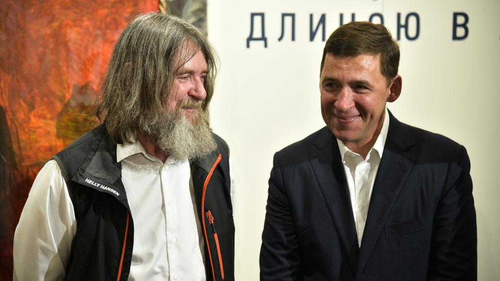 Федор Конюхов привез в Екатеринбург 40 картин. Экскурсия по выставке Федора Конюхова от Федора Конюхова
