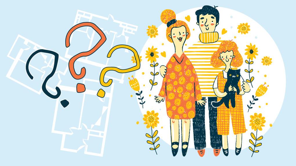Как модифицировать квартиру, когда в ней появляется и растет ребенок. Три проекта