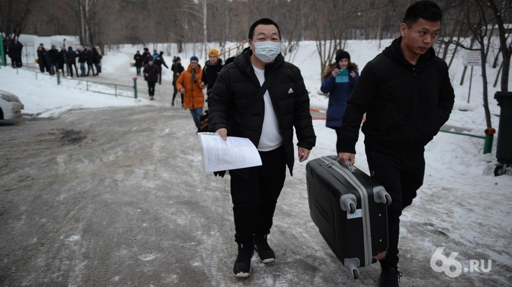 Из карантина в санатории «Бодрость» выписали первых китайцев. Фото