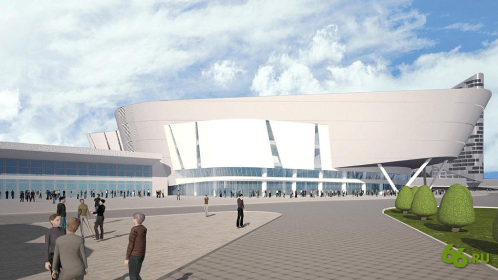 Власти определились, когда достроят конгресс-холл «Екатеринбург-Экспо». К «Иннопрому» снова не успеют