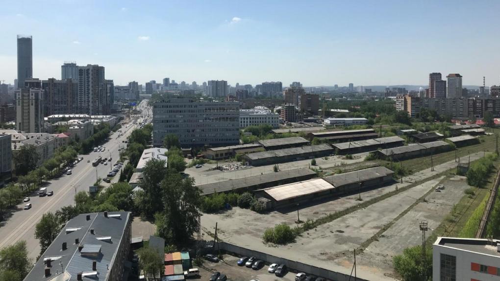 Как будут застраивать огромный участок РЖД в центре Екатеринбурга. Критерии горадминистрации