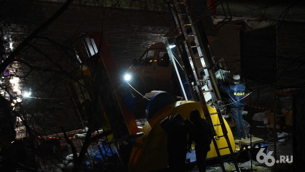 На Плотинке установили часы обратного отсчета до Универсиады-2023