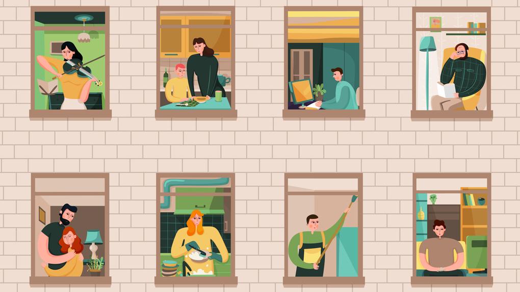 У 52% читателей 66.RU квартира провалила испытание самоизоляцией