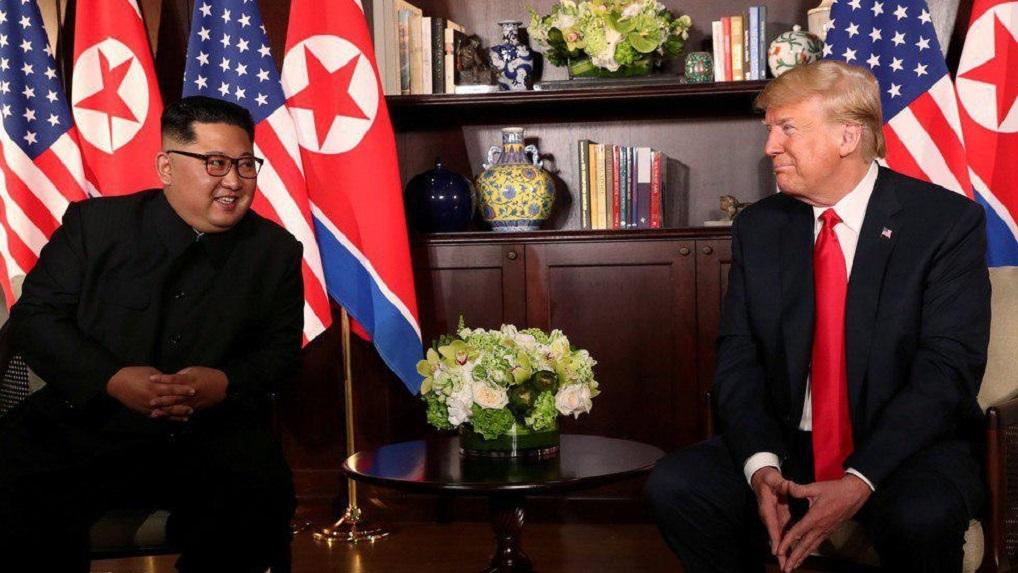 Дональд Трамп впервые встретился с Ким Чен Ыном. Главные заявления