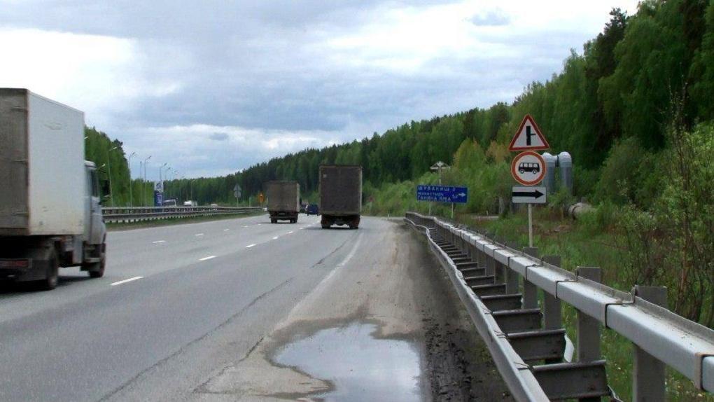 На подъездах к Екатеринбургу установили новые дорожные знаки