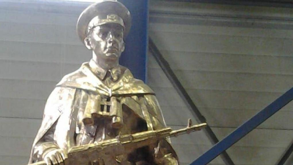 «Кладбище героев» в ЦПКиО перестраивают. Фото обновленного памятника на Аллее ратной славы