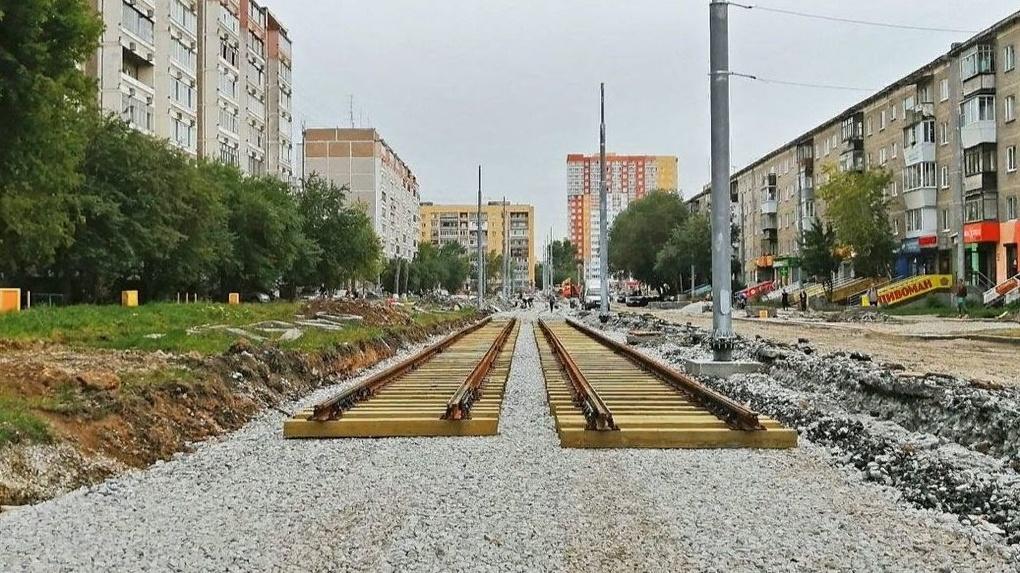 На строительство трамвайной ветки в Верхнюю Пышму потратят еще полмиллиарда из бюджета Екатеринбурга