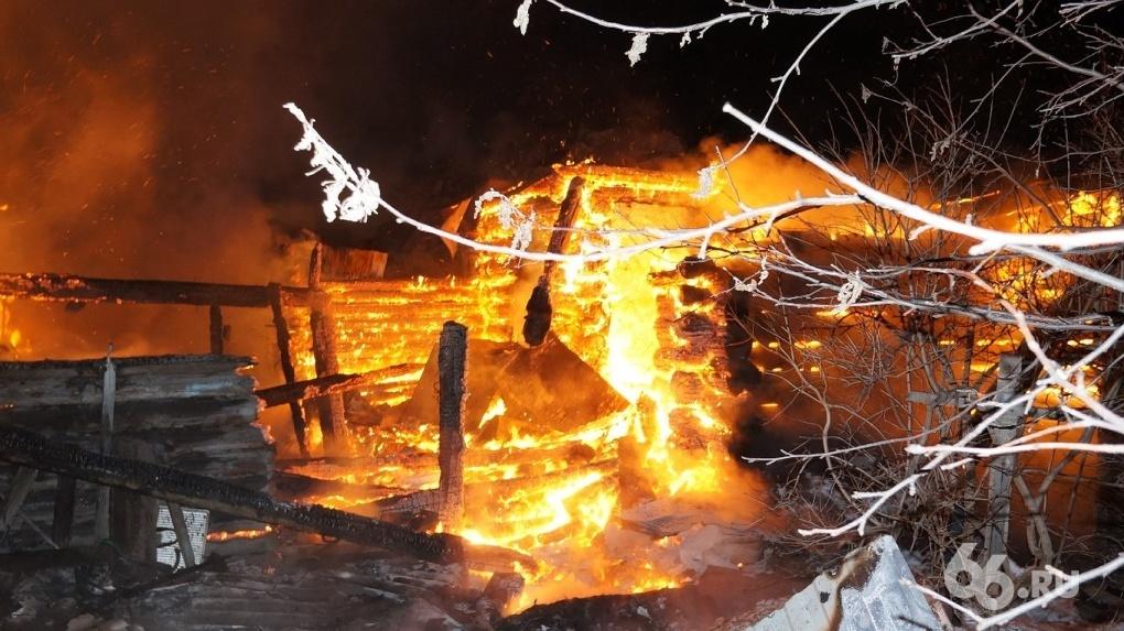 В итоге ночного пожара вСысертском районе погибли отец итрое детей