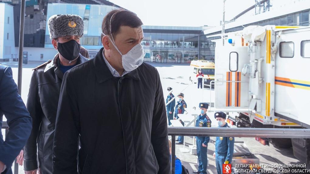 Евгений Куйвашев ответил на вопросы об ужесточении режима изоляции и слежке за гражданами