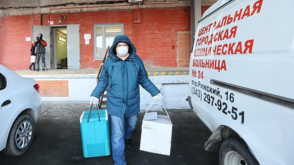 Свердловская область получила в 33 раза меньше доз российской вакцины от коронавируса, чем Аргентина