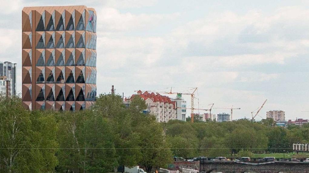 Улицу Горького на неделю закроют из-за здания-«Ананаса»