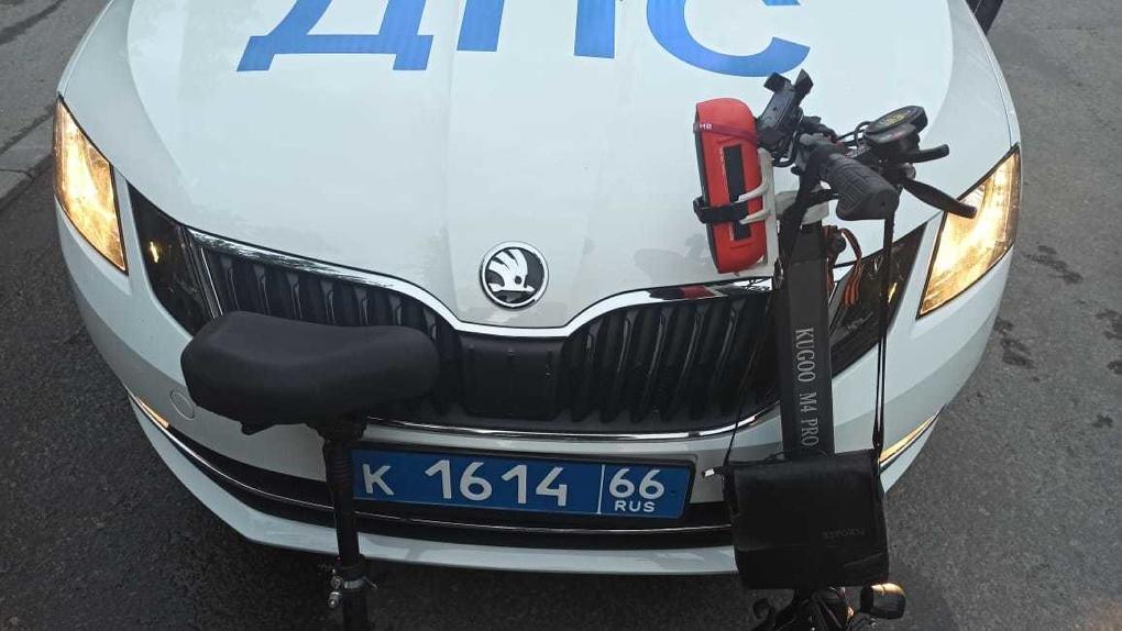 В Екатеринбурге водителя электросамоката арестовали на 10 суток за пьяную езду
