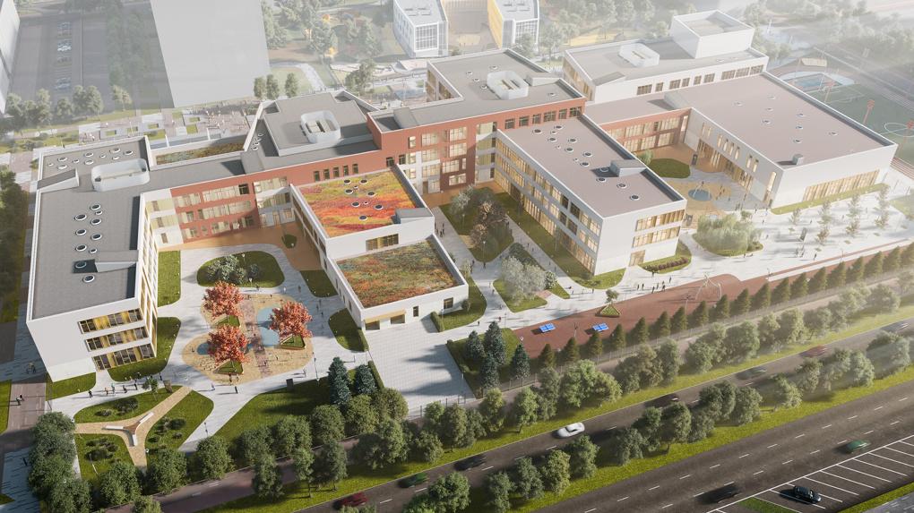 В Солнечном построят «губернаторский лицей» и культурно-образовательный кластер