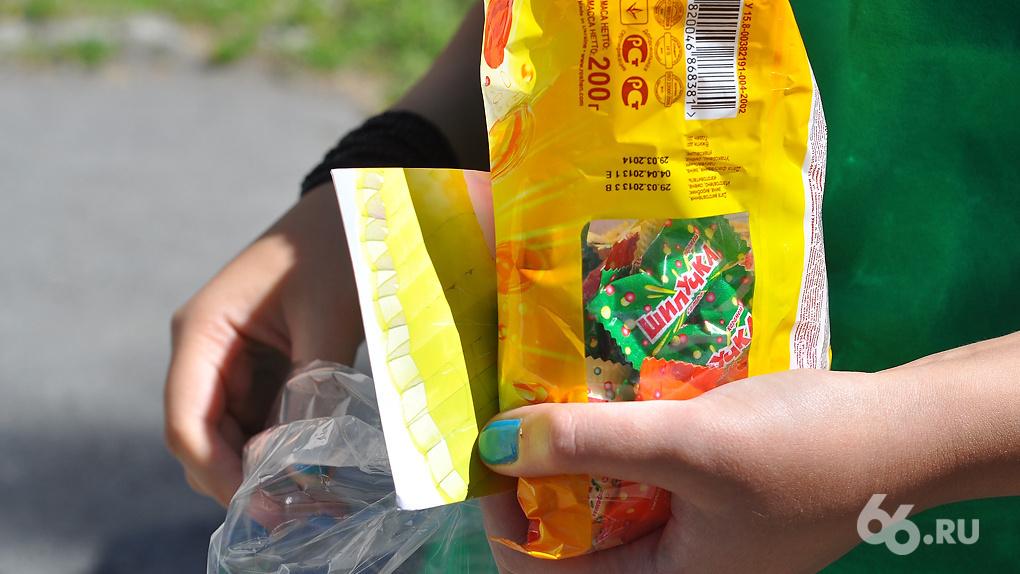 Роспотребнадзор забраковал половину конфет, которые продаются в екатеринбургских магазинах