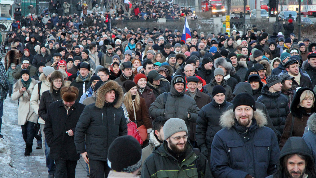 Правительство разрешило митинги во время ЧМ-2018. Только в парках и не больше 100 человек