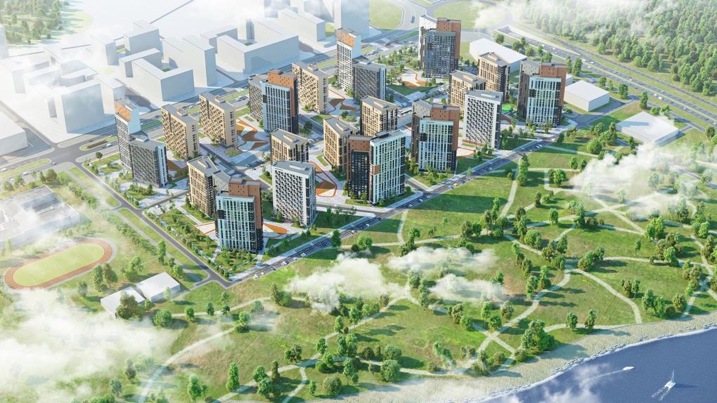 На ВИЗе-Правобережном построят район на 200 тыс. «квадратов» жилья. Первые рендеры проекта