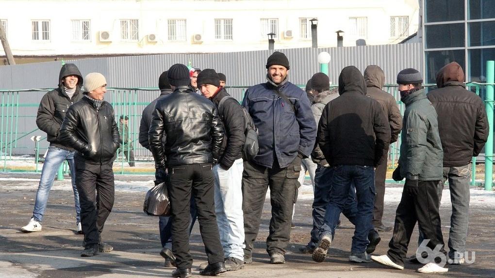 Бизнесмены Екатеринбурга незаконно зарегистрировали 5 тысяч мигрантов