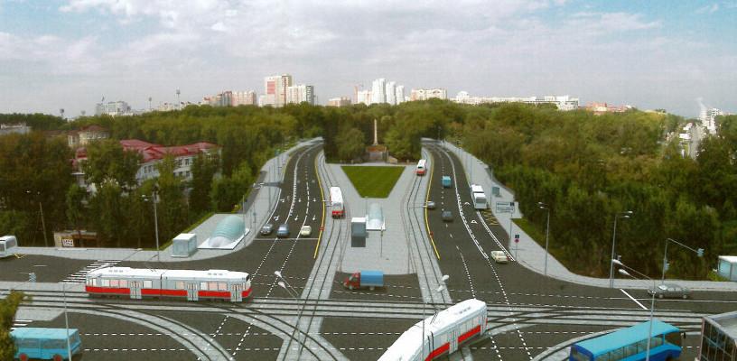 «Пропускная способность — 6000 человек в час». Первые трамваи пустят по Татищева в октябре 2017 года