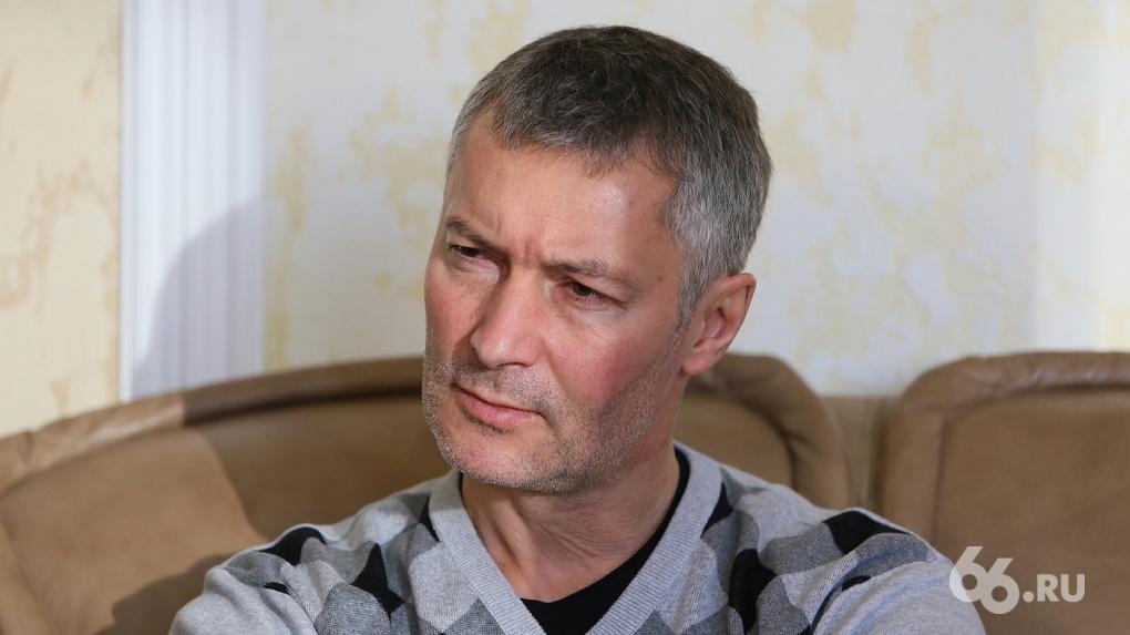 Евгений Ройзман заразился коронавирусом