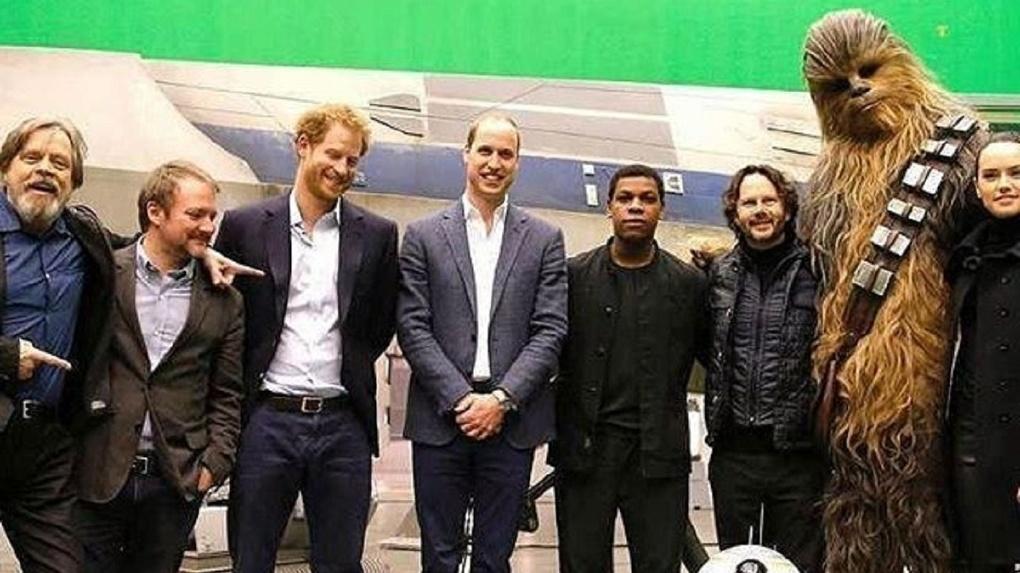 Британские принцы снялись в новом эпизоде «Звездных войн»