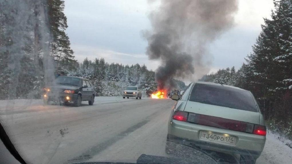Момент страшной аварии с участием машины ДПС попал на ВИДЕО