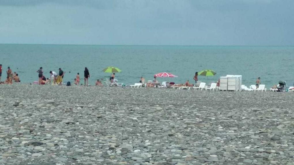 В Грузии пустеют пляжи без русских туристов. Фото