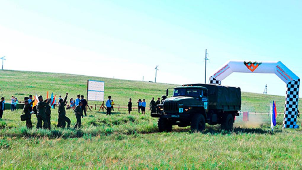 Военные из Екатеринбурга победили во всероссийском армейском ралли