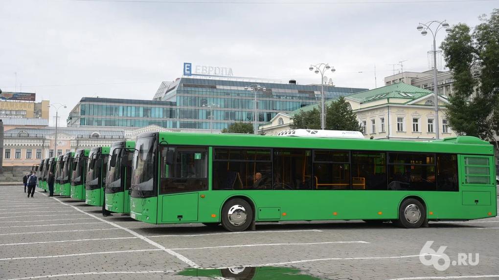 «Гортранс» отменил покупку 58 новых автобусов для Екатеринбурга. Причина