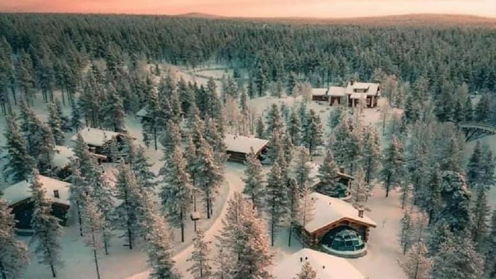 На горе Белой построят трехкилометровые трассы и домики для всесезонного отдыха. Эскизы