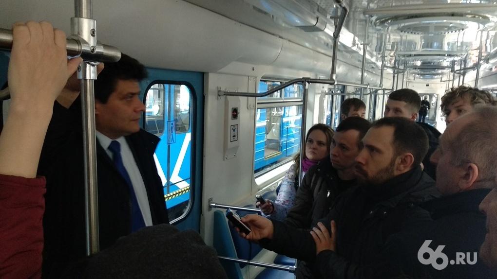 Евгений Куйвашев поручил Александру Высокинскому убрать очереди в метро из-за новых правил досмотра