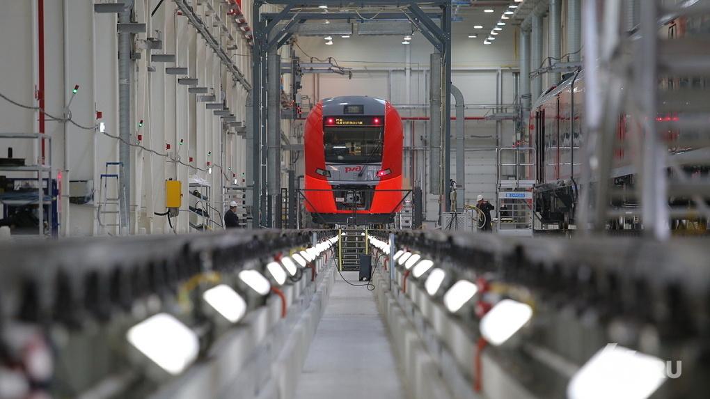 На время ЧМ-2018 по Екатеринбургу запустят поезда «Ласточка»