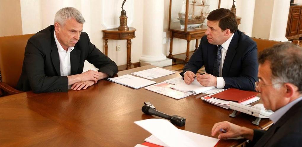 Под присмотром Тунгусова свердловский губернатор обсудил с мэром Нижнего Тагила выборы