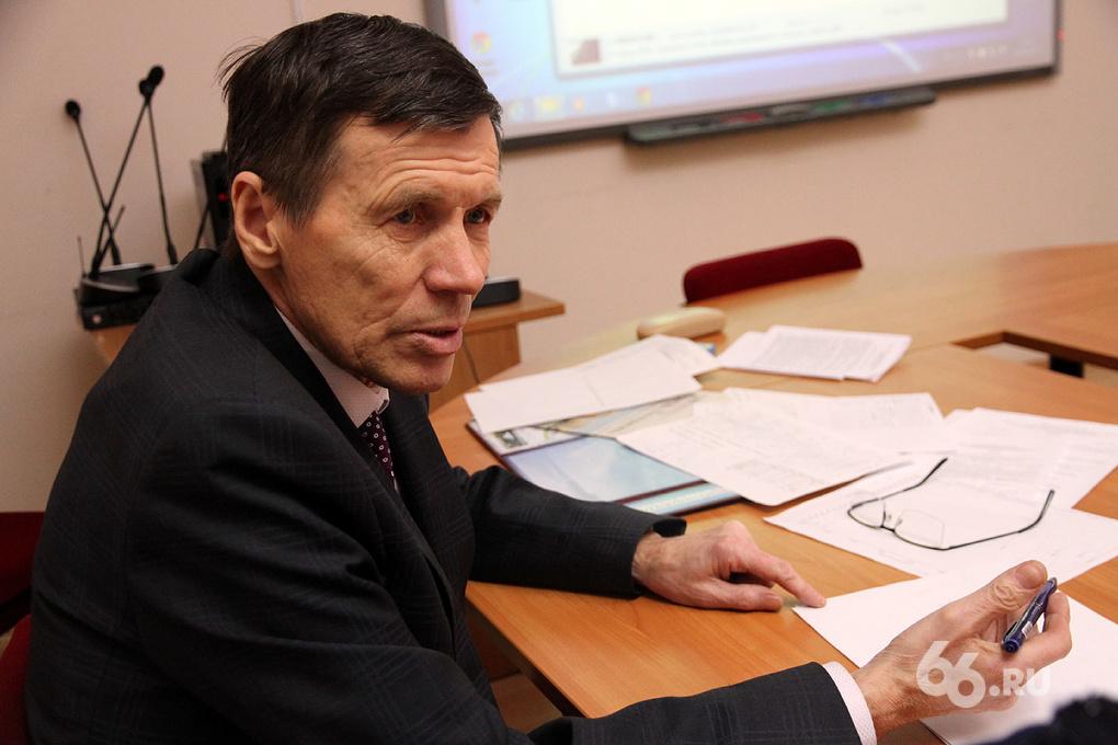 Профессор Сергей Булдаков: «Я знаю, кто избавит Екатеринбург от грязи»
