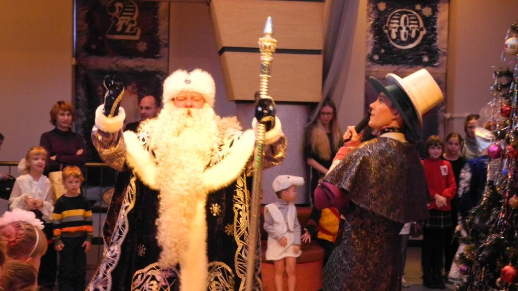 Новый год 2019-2020 в Екатеринбургском театре кукол