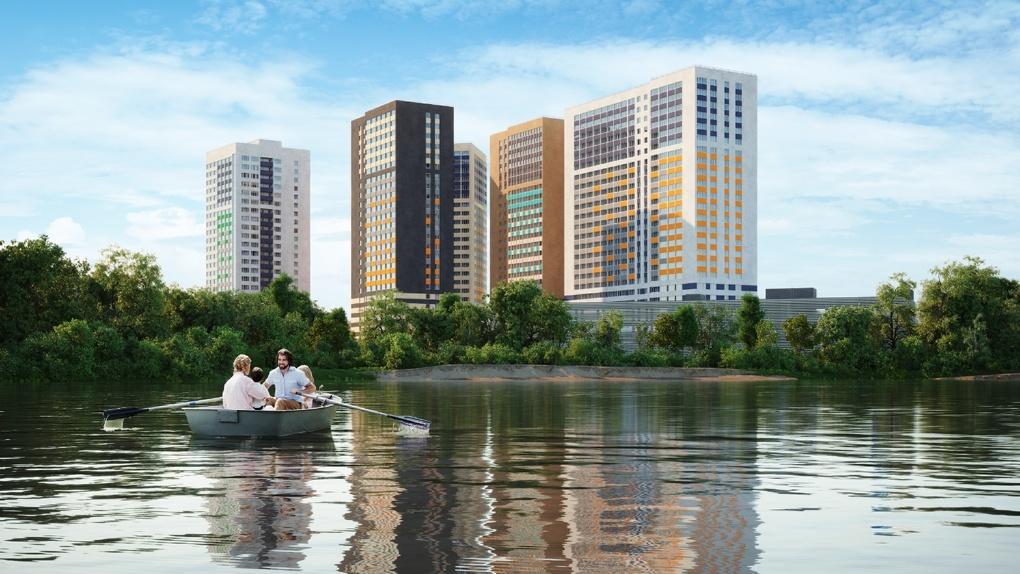 Студия с горным пейзажем за 1,75 миллиона: на Уктусе строится новый жилой квартал