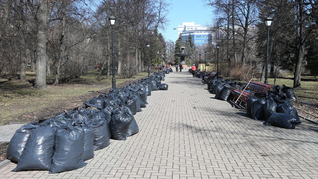 Футбольные болельщики завалят ЦПКиО мусором на 3 млн рублей