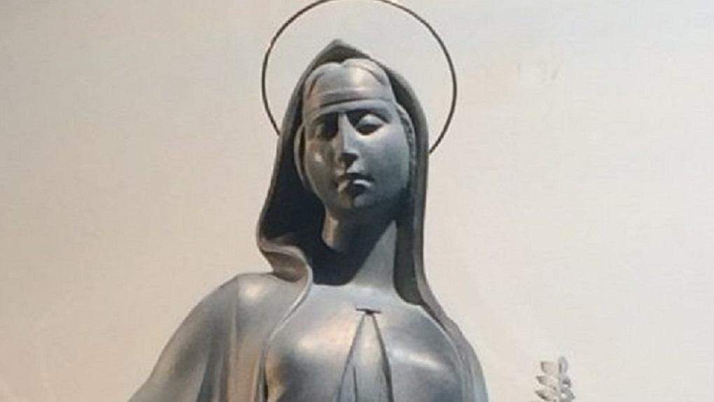 Эдуард Россель хочет поставить гигантскую статую святой Екатерины в центре Городского пруда
