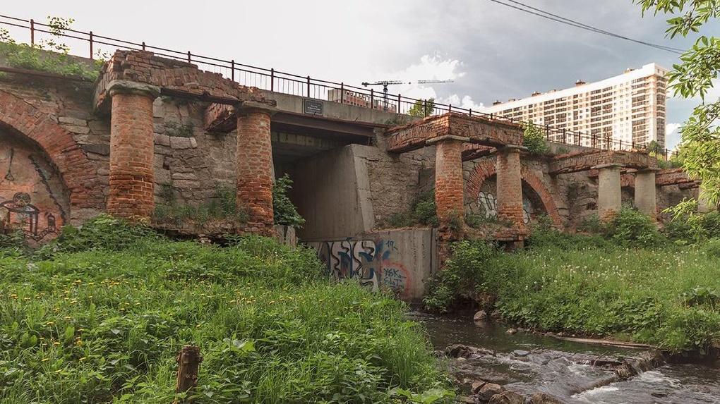Плотину на реке Ольховке отремонтируют за 15 млн рублей. Посмотрите, как она выглядит сейчас