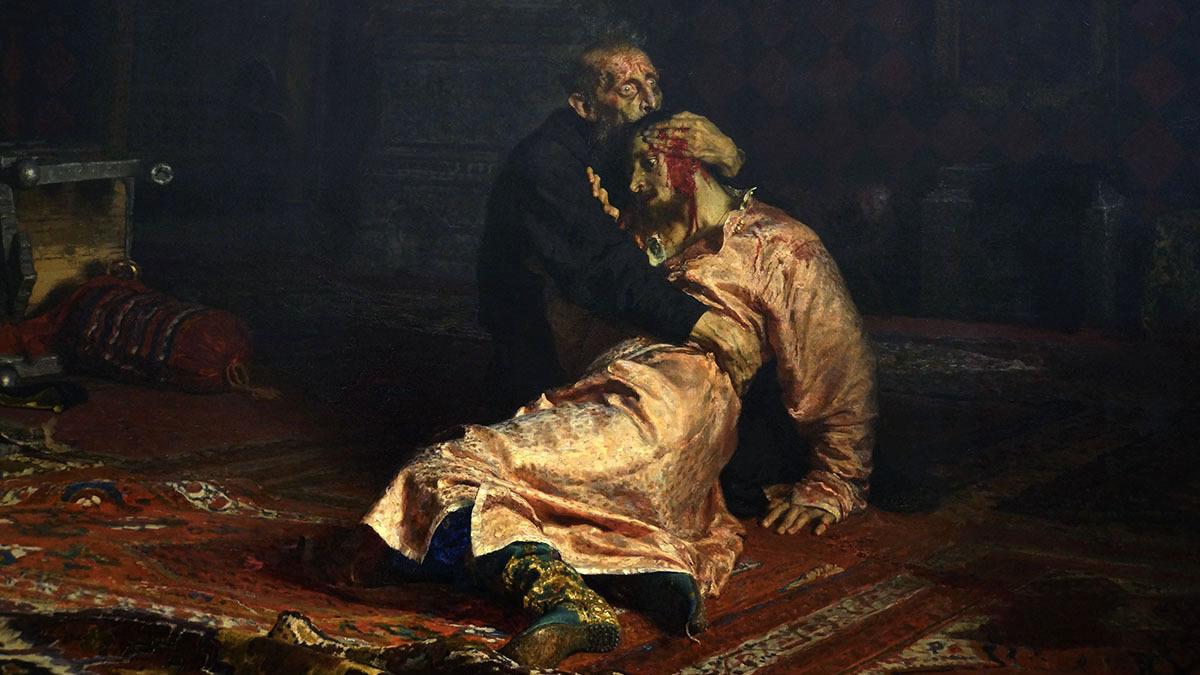 Сумма ущерба, причиненного вандалом картине Репина в Третьяковской галерее, выросла в 60 раз