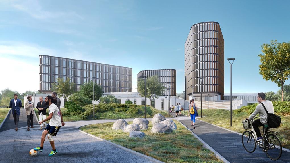 «СКБ Контур» и УрФУ построят в IT-деревне на Широкой Речке образовательный комплекс. Рендеры