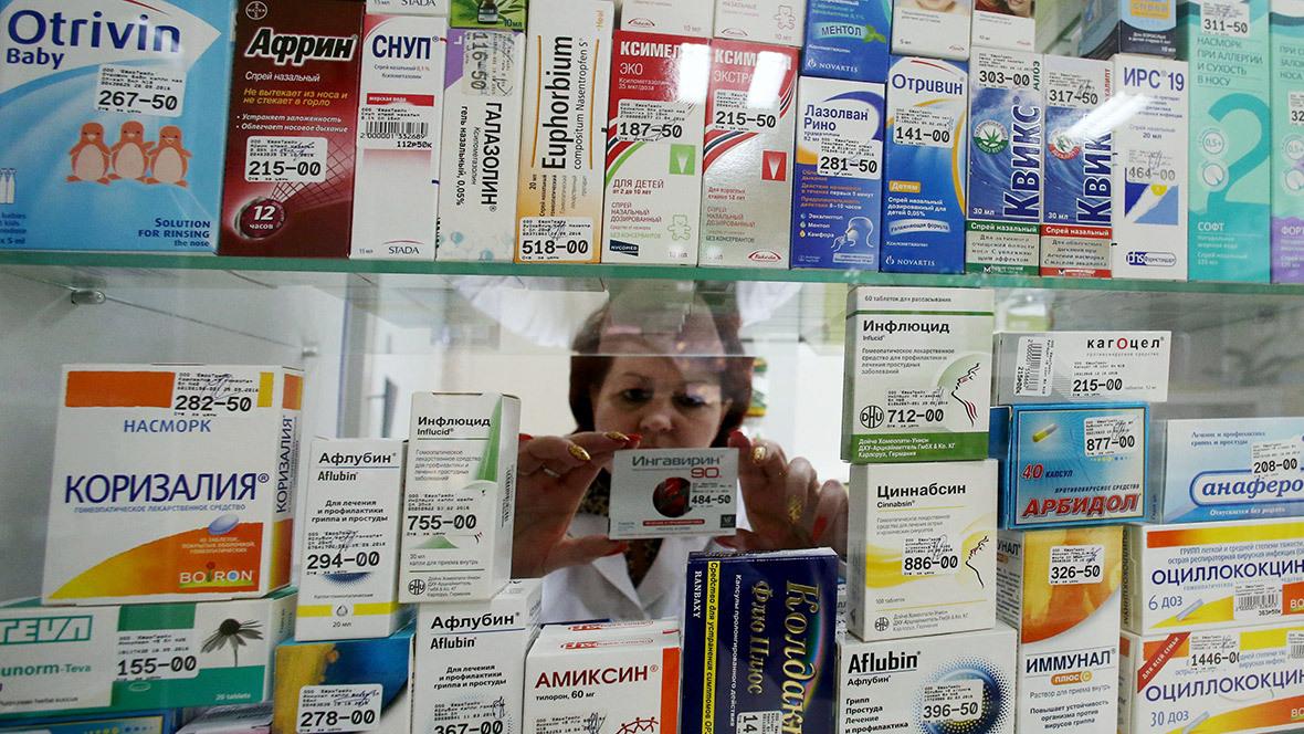Из-за распространения коронавируса в российских аптеках подорожали лекарства
