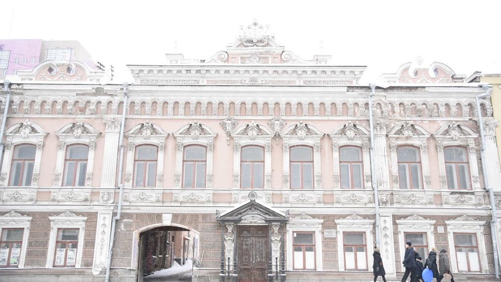 Детская филармония восстановит в центре города усадьбу, похожую на Зимний дворец. Фото