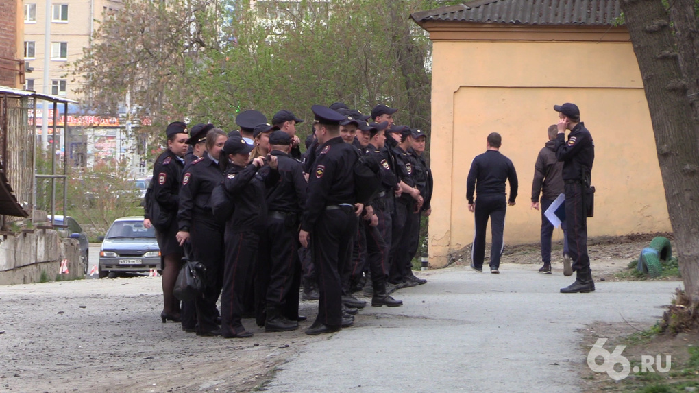 В Екатеринбург прибыли 8000 полицейских. Но это секрет