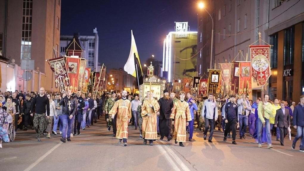 Крестный ход впервые будет охранять казачий отряд быстрого реагирования