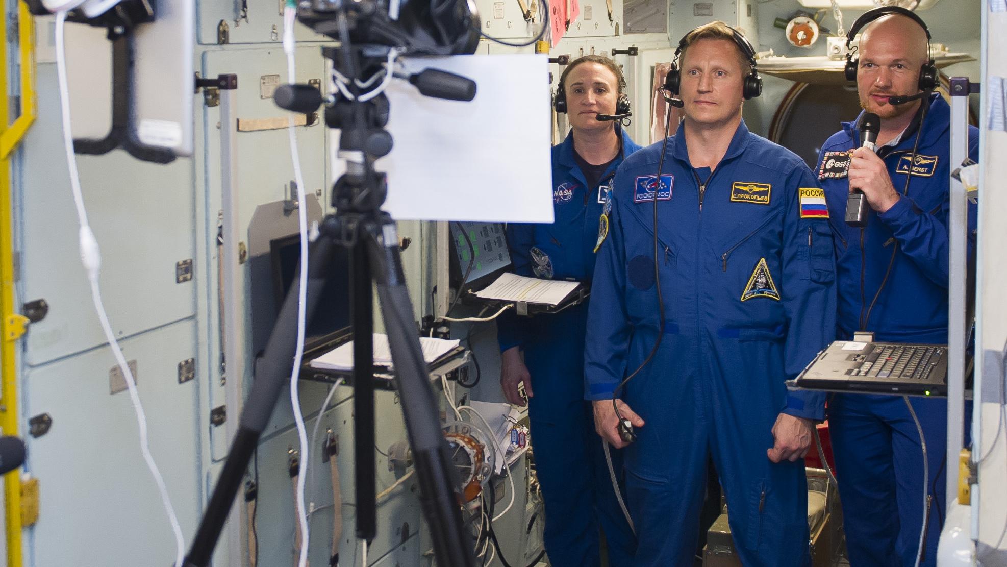 Космонавт из Екатеринбурга отправился на МКС в прямом эфире. Видео