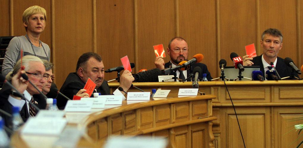За нарушение законодательства о коррупции Гордума Екатеринбурга отправила в отставку троих депутатов