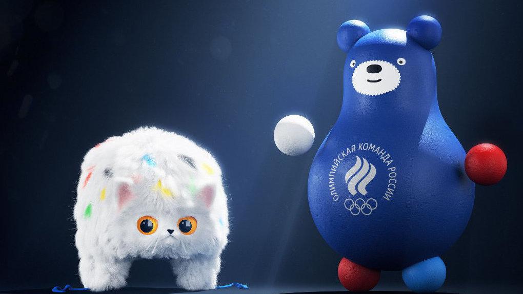ОКР представил новые талисманы олимпийской сборной РФ