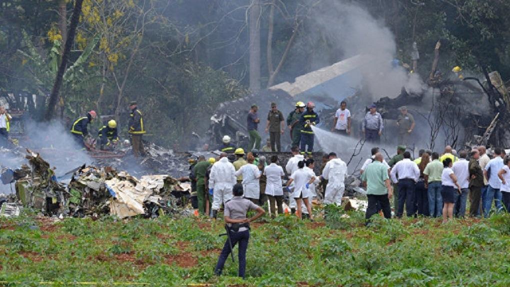 На Кубе рухнул самолет с туристами