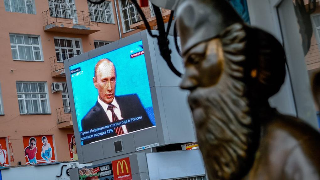 Перерыв на Путина. Президент решает проблемы россиян в прямом эфире